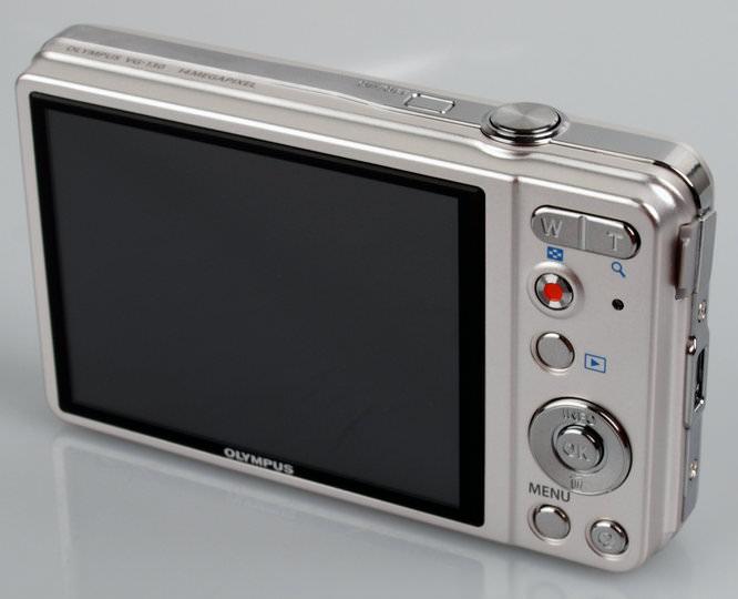 Olympus VG-130 Screen