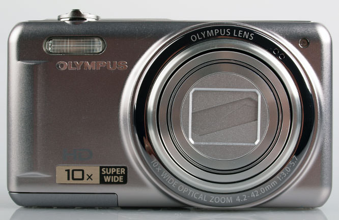 Olympus VR-310 Digital Compact Camera front