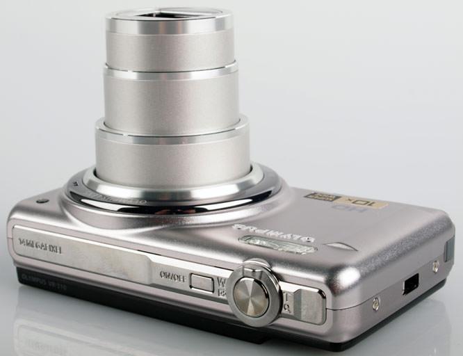 Olympus VR-310 Digital Compact Camera top