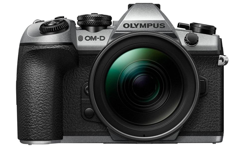 OM-D E-M1 Mark II camera in silver
