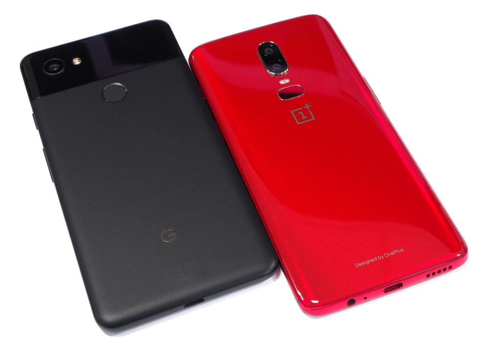 Oneplus6 Red Google Pixel2xl