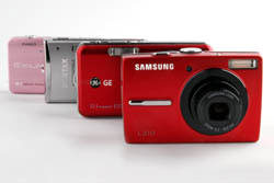 Group of digital compact cameras