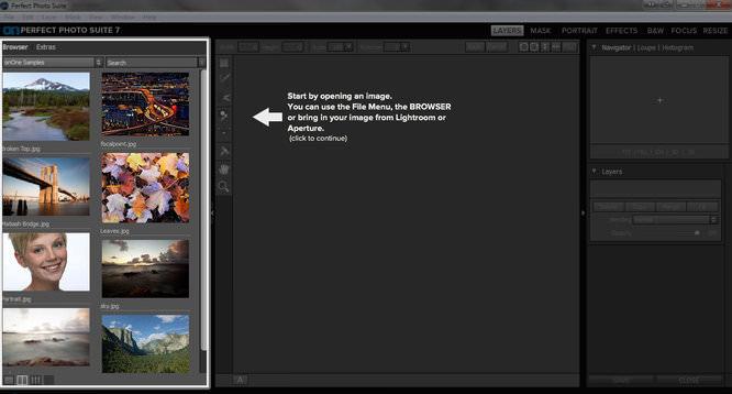 Perfect Photo Suite 7 Screenshot 1