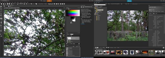 Corel Paint Shop Pro X4 Dual Screen