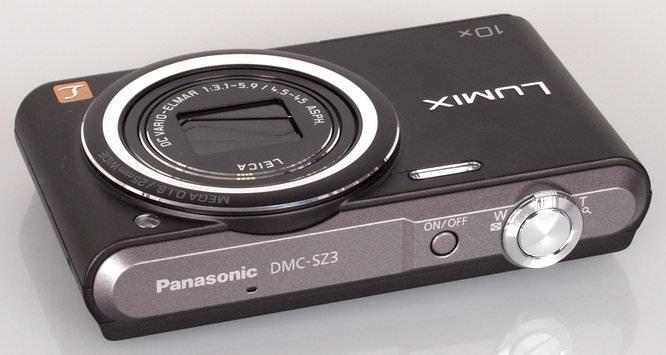 Panasonic Lumix DMC SZ3 Black (6)