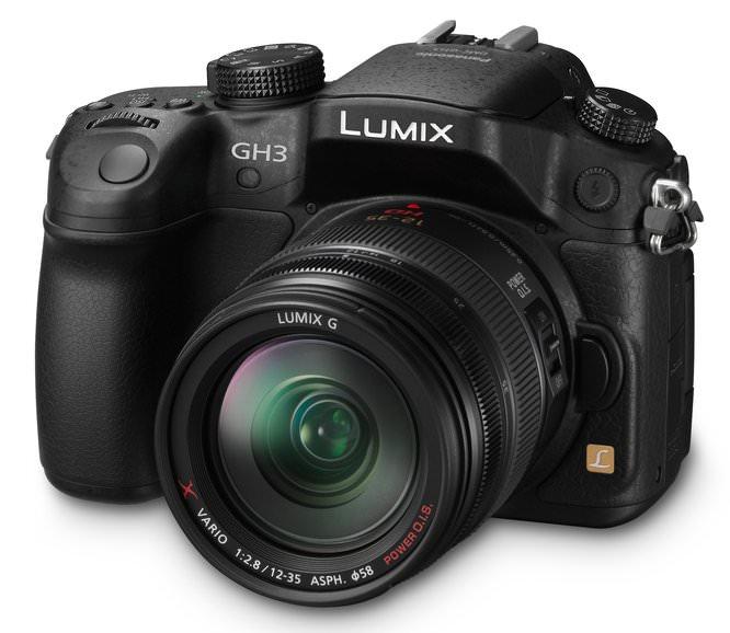 Panasonic Lumix GH3 H HS12035 Slant
