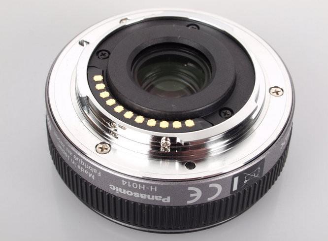 Panasonic Lumix G Pancake Lens 14mm, F2.5 Wide-Angle