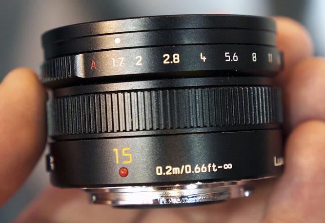 Leica DG Summilux 15mm f/1.7 ASPH. Lens