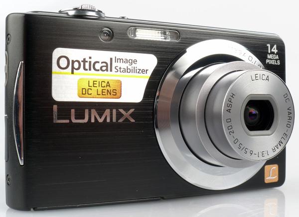 Panasonic Lumix DMC-FS16 front lens