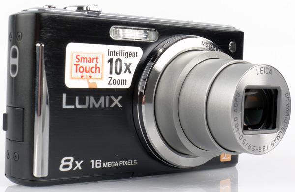 Panasonic Lumix DMC-FS37 front lens