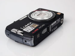 Panasonic DMC-FX700 front and side