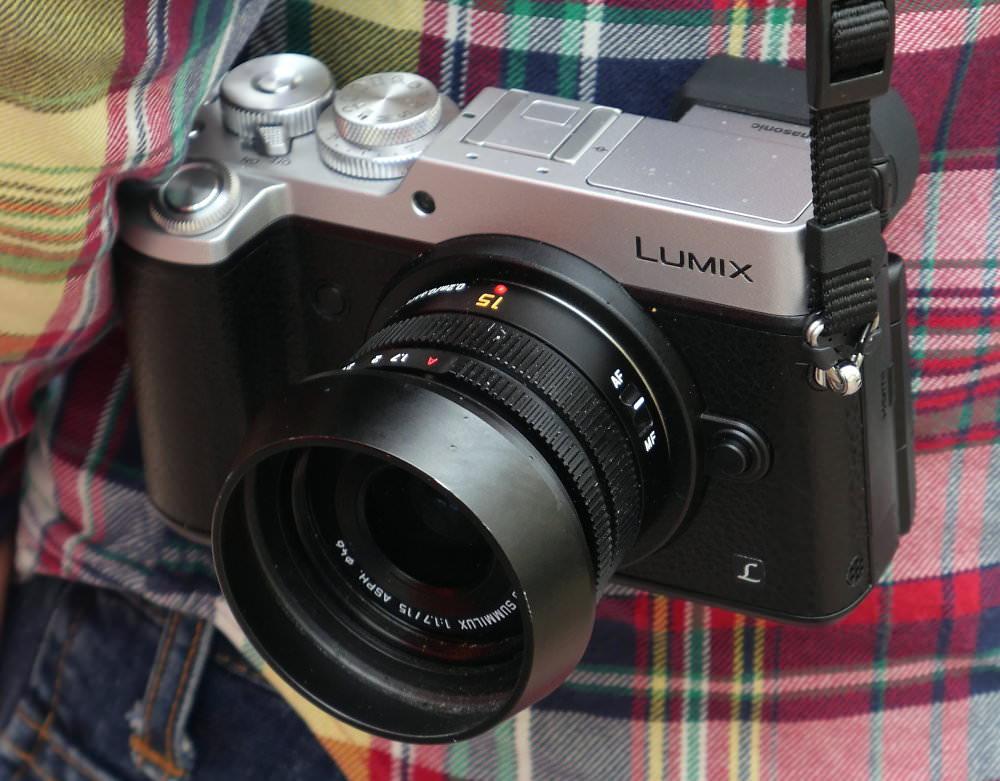 Panasonic Lumix GX8 Silver Hands On (2)