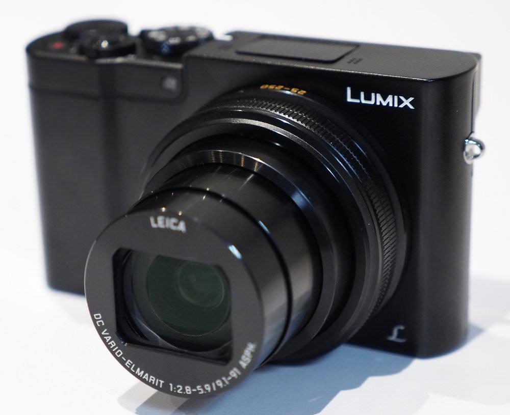 Panasonic Lumix TZ100 Black (9)