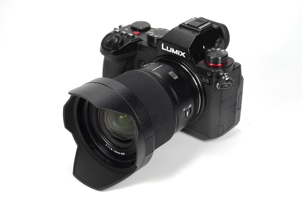 Panasonic L-Mount S 24mm F/1.8