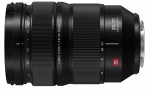 Panasonic Launches New Lumix S PRO 24-70mm f/2.8 L-Mount Interchangeable Lens