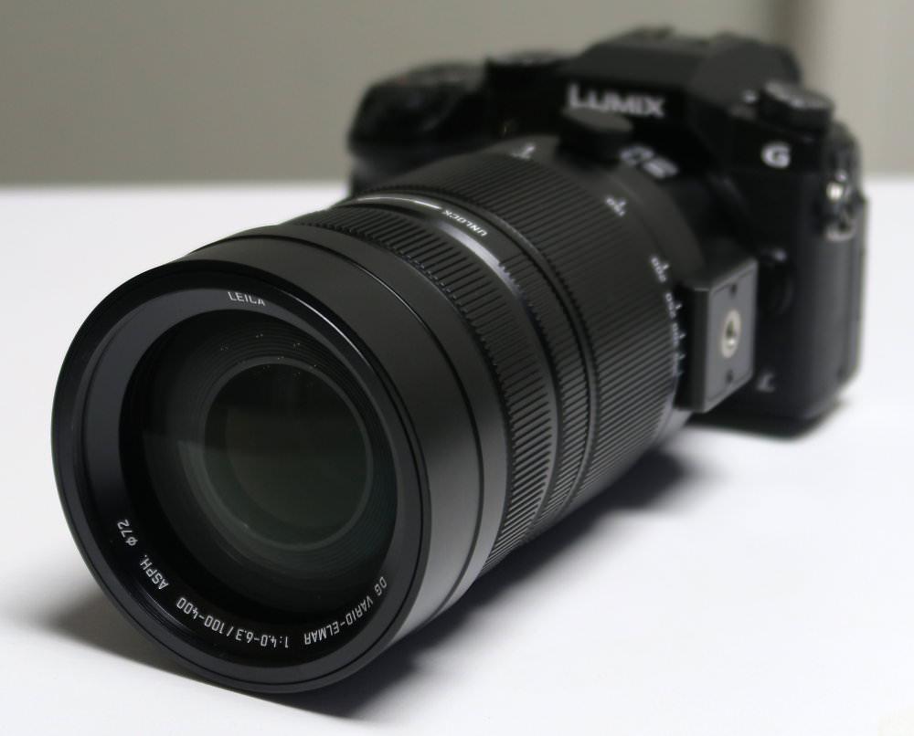 Panasonic Leica 100 400mm Zoom Lens (2)