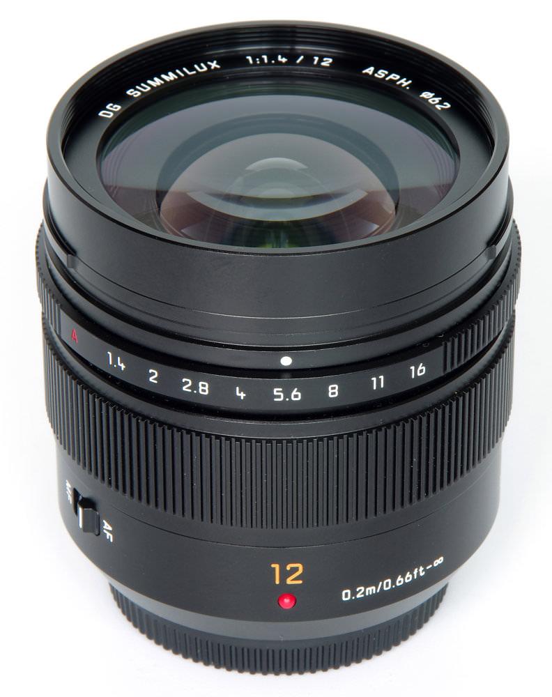 Dg Summilux 12mm F1,4 Vertical View