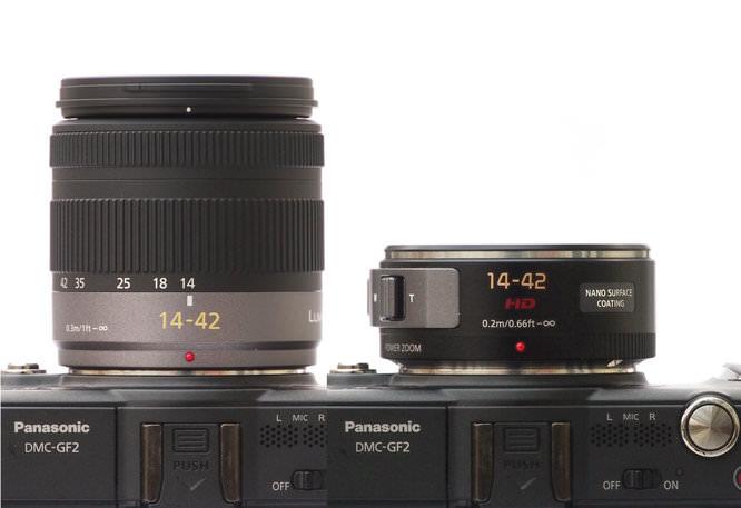14-42mm Side by Side