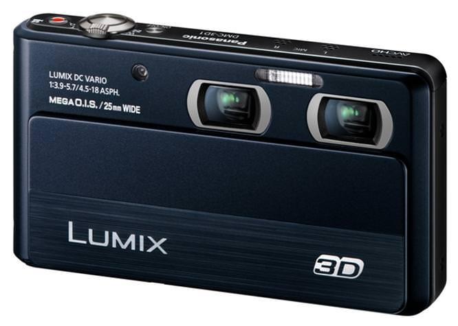 Panasonic Lumix 3D1 Slant