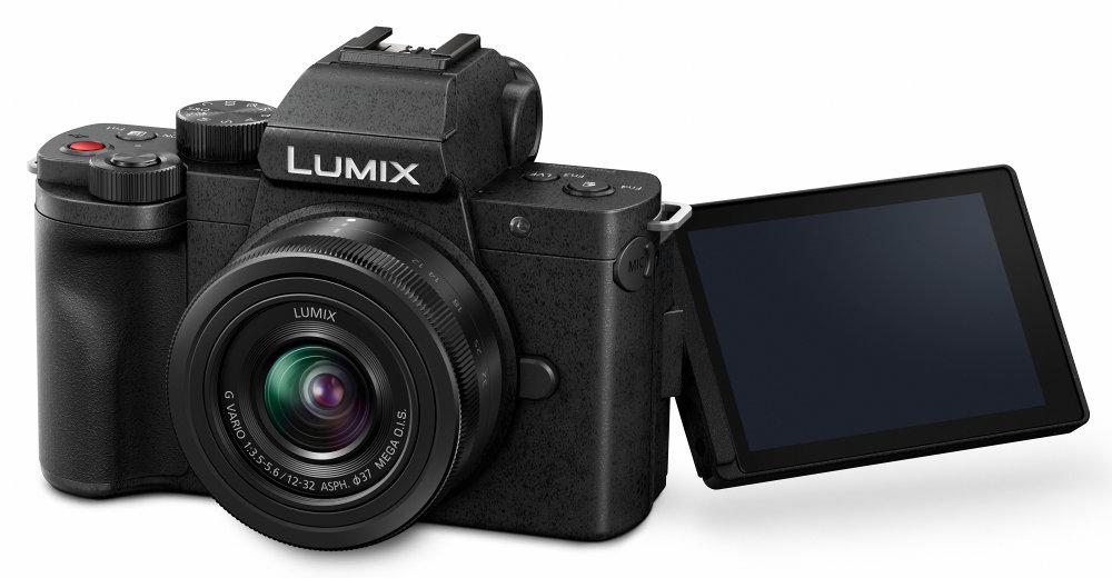 Panasonic LUMIX G100 1232 Kit (G100KEB K) Slant LCD