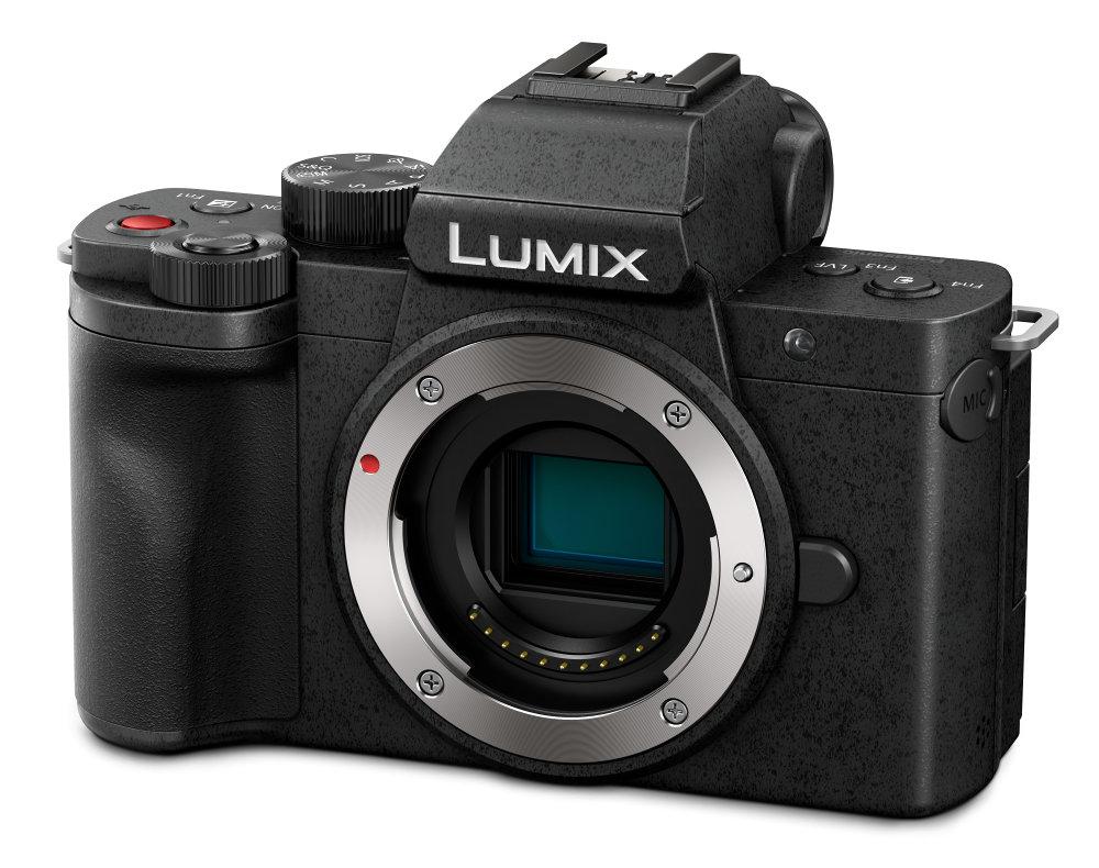 Panasonic LUMIX G100 Body (G100EB K) Slant