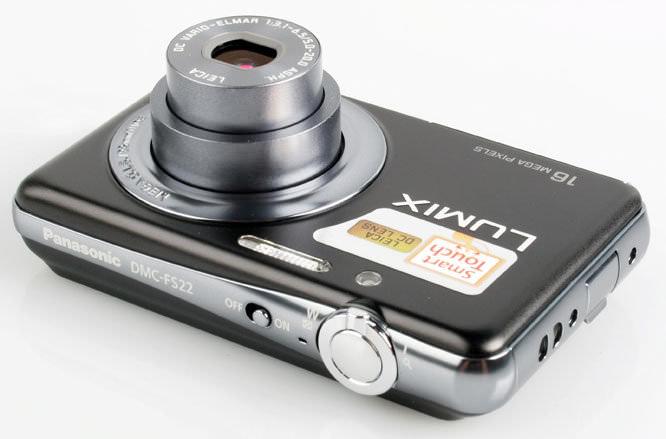 Panasonic Lumix DMC-FS22 Top