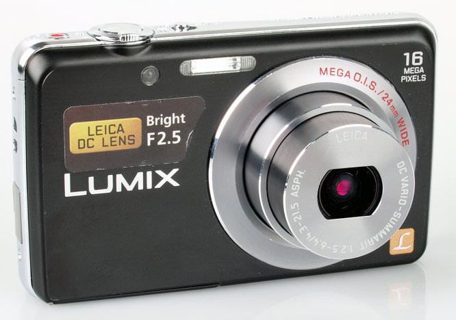 Panasonic Lumix DMC-FS45 Lens Extended