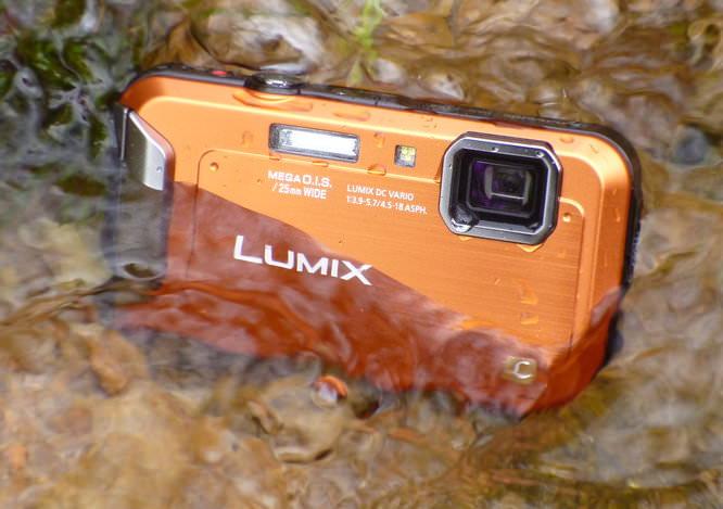 Panasonic Lumix Ft20 In Water