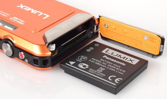 Panasonic Lumix Ft20 Orange Battery
