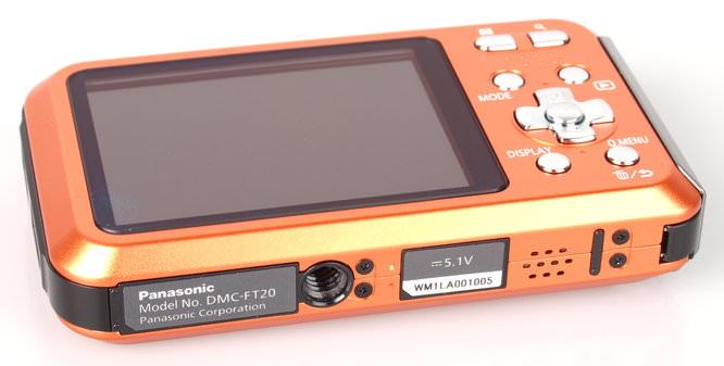 Panasonic Lumix Ft20 Orange Bottom1