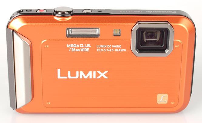 Panasonic Lumix Ft20 Orange Front