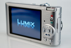 Panasonic Lumix DMC-FX60 back