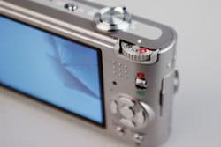 Panasonic Lumix DMC-FX60 command dial