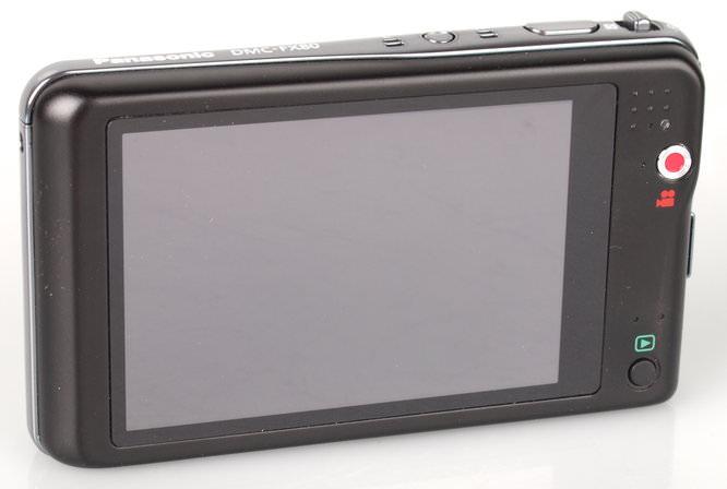 Panasonic Lumix FX80 Rear