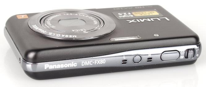 Panasonic Lumix FX80 Top