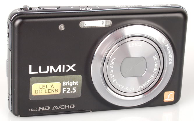 Panasonic Lumix FX80 Angle