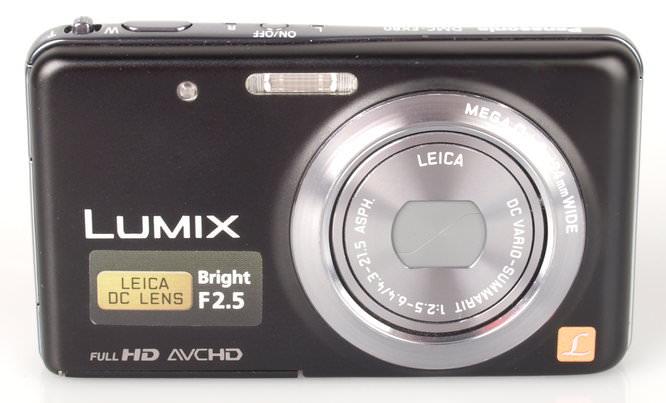 Panasonic Lumix FX80 Front