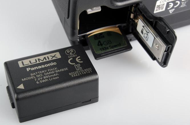 Panasonic Lumix DMC-FZ45 & FZ100 battery