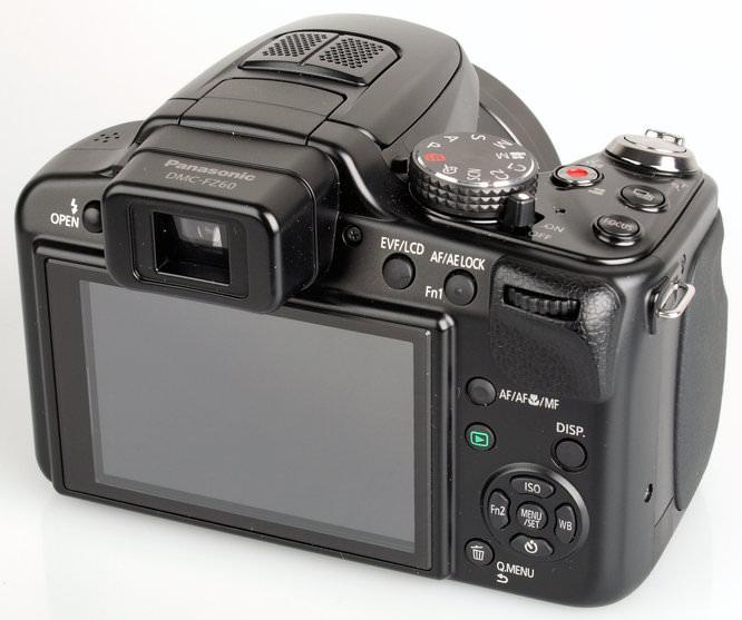 Panasonic Lumix Dmc Fz62 Rear