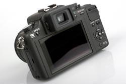 Panasonic Lumix DMC-G10 back view