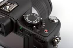 Panasonic Lumix DMC-G10 command dial