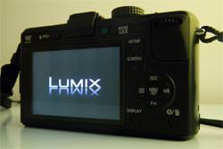 Panasonic Lumix DMC-GF1 back