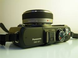 Panasonic Lumix DMC-GF1 top