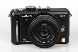 Panasonic Lumix DMC-GF1 front view