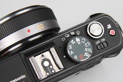 Panasonic Lumix DMC-GF1 top