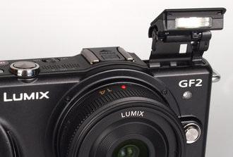 Panasonic Lumix GF2 Pop up flash