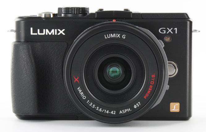 Panasonic Lumix GX1 Front