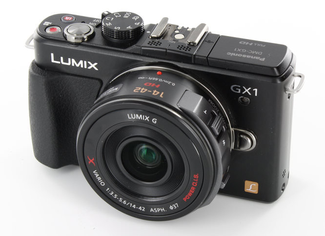 Panasonic Lumix GX1 - Camera / Lens Off