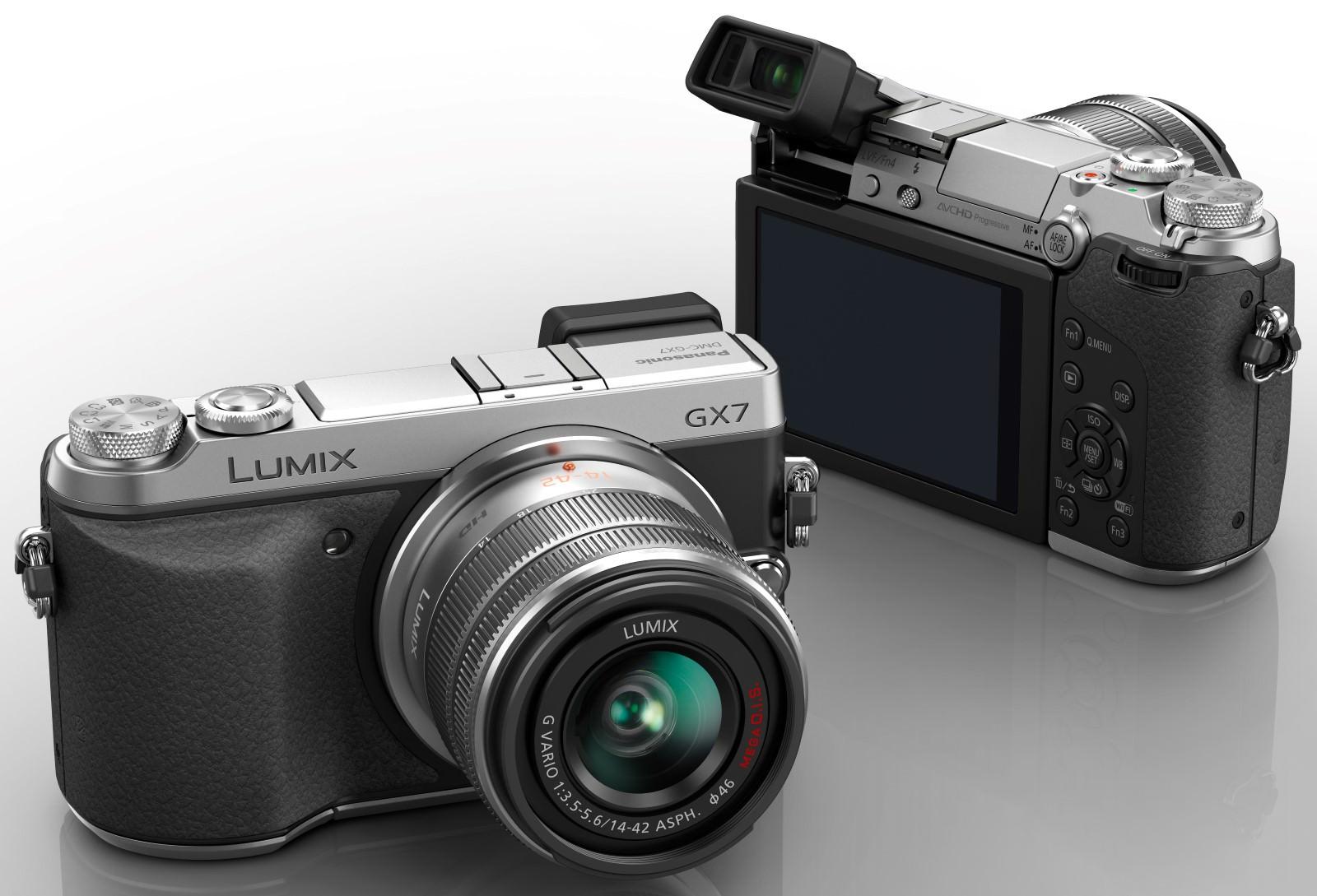 Panasonic Lumix DMC-GX7 DSLM Camera Announced | ePHOTOzine