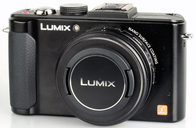 Panasonic Lumix Dmc Lx7 Front